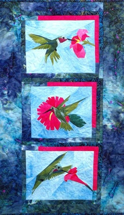 Humdingers - Foundation Paper Piecing Pattern - 3 Blocks: each Block ...
