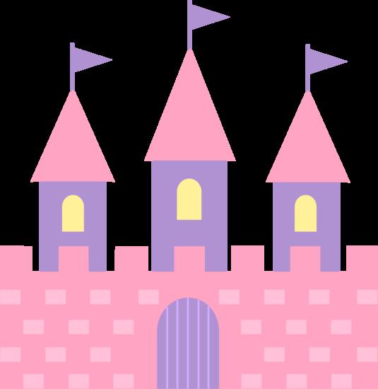 Cute Pink Princess Castle - Free Clip Art | Scrapbook - Girl Stuff ...