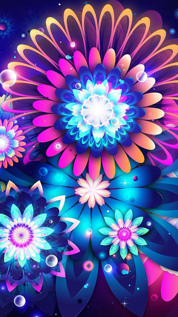 blue color flowers iphone 6 wallpapersjpg 7502151334
