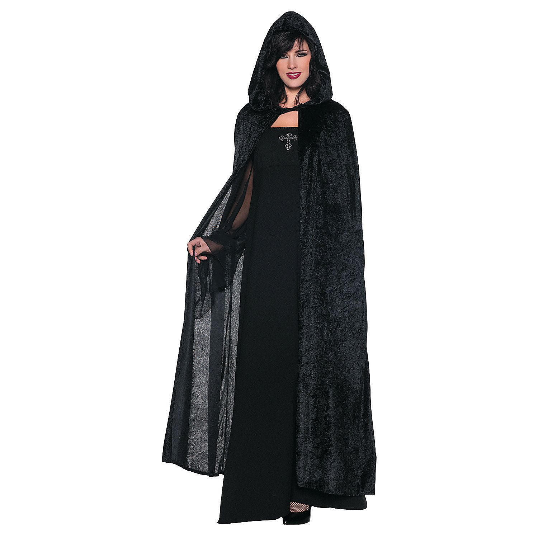 Hooded+Black+Costume+Cloak+for+Women+-+OrientalTrading.com