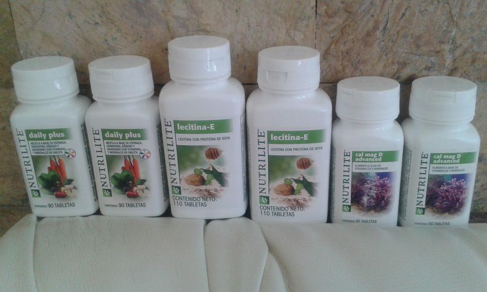 6x Amway Nutrilite Calcium Masticable Lecithin Daily Plus