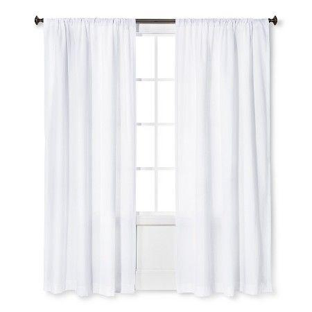 Farrah Curtain Panel White 54x84