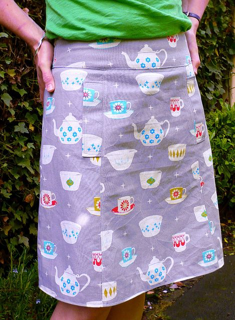 tea party skirt by Truly Myrtle, via Flickr