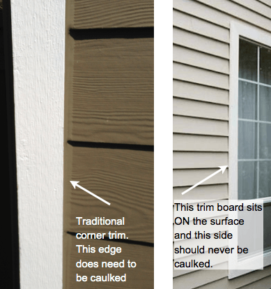 Best Caulk Fiber Cement Siding Certainteed Weatherboards James Hardieplank Siding Identification Ins In 2020 Diy Exterior Window Trim Hardie Plank Window Trim Exterior