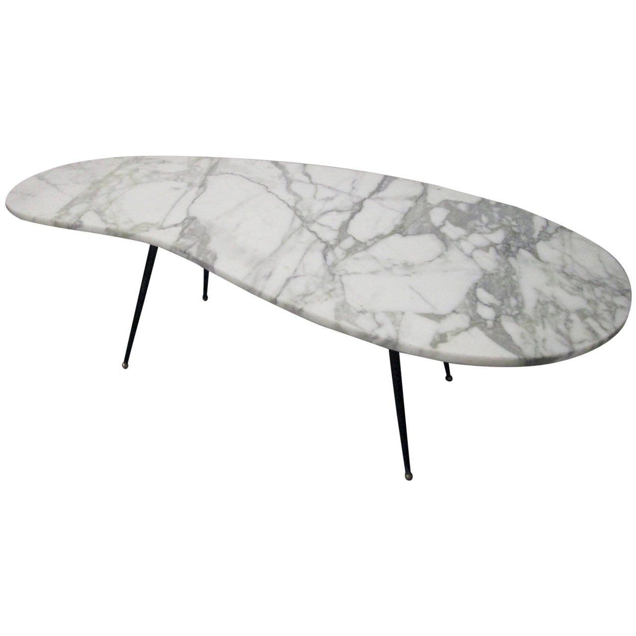 Italian Kidney Shaped Marble Top And Iron Coffee Table Style Gio Ponti Coffee Table Iron Coffee Table Coffee Tables For Sale [ 1280 x 1280 Pixel ]