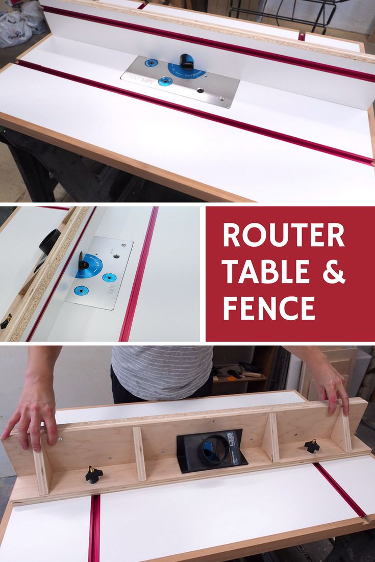 How To Build A Router Table And Fence Diy Router Table