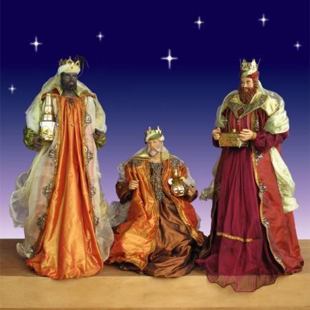 Three Kings Life Size Nativity