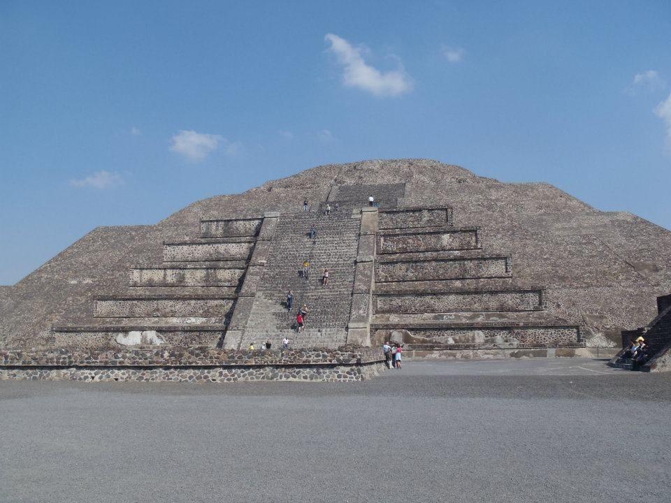 Moon Pyramid at Teotihuacan Pyramids, Mexico