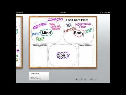 Social Work Tech Video 5 - Self-Care Plan School Social Work - care plan
