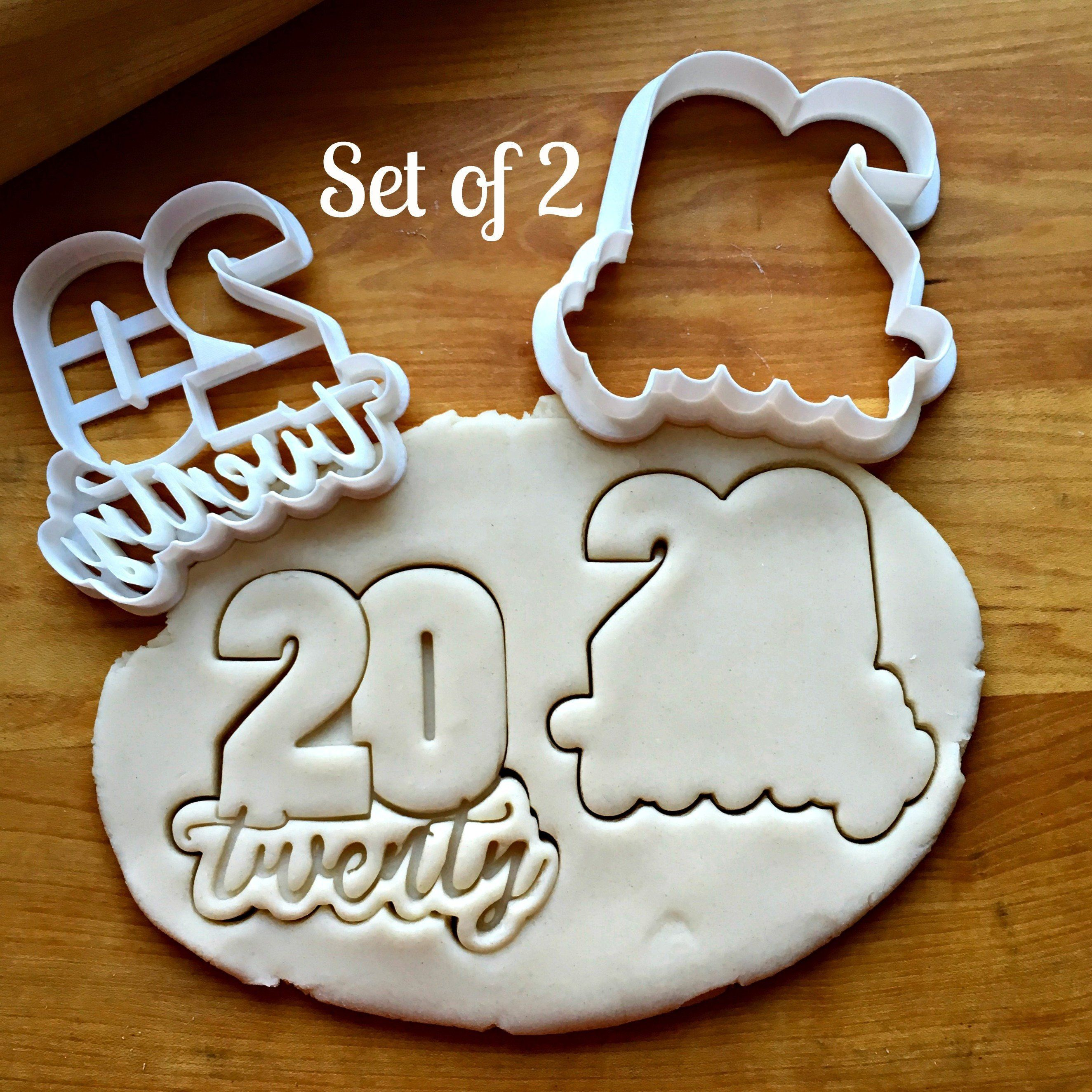 Set of 2 Thank You Cookie CuttersMulti-SizeDishwasher Safe Available