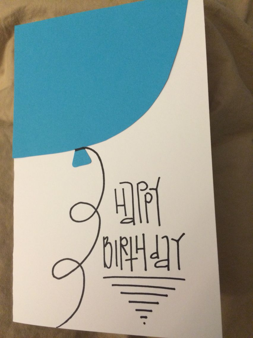 Quick Easy Birthday Card Simple Card Designs Simple Birthday Cards Simple Cards