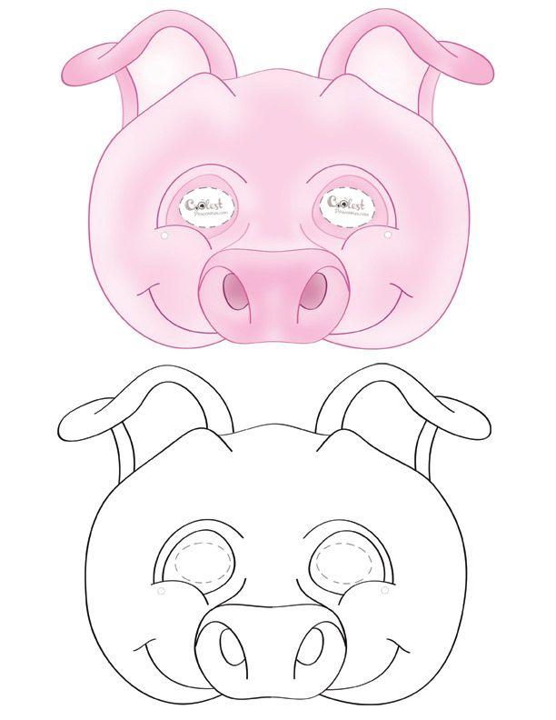 Printable pig mask coolest free printables paprmunkk printable pig mask coolest free printables maxwellsz