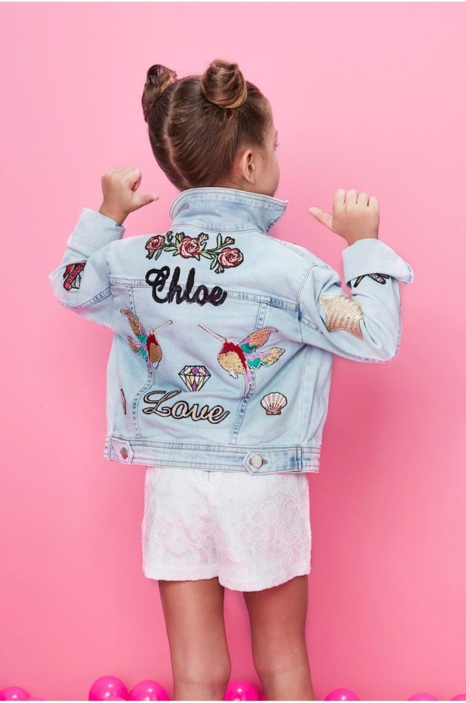 263a9e003865 MINI CUSTOMIZED DENIM JACKET