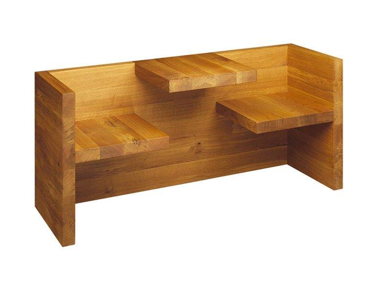 Panca in legno HP01 TAFEL CHILDREN Collezione Tafel by e15 ...