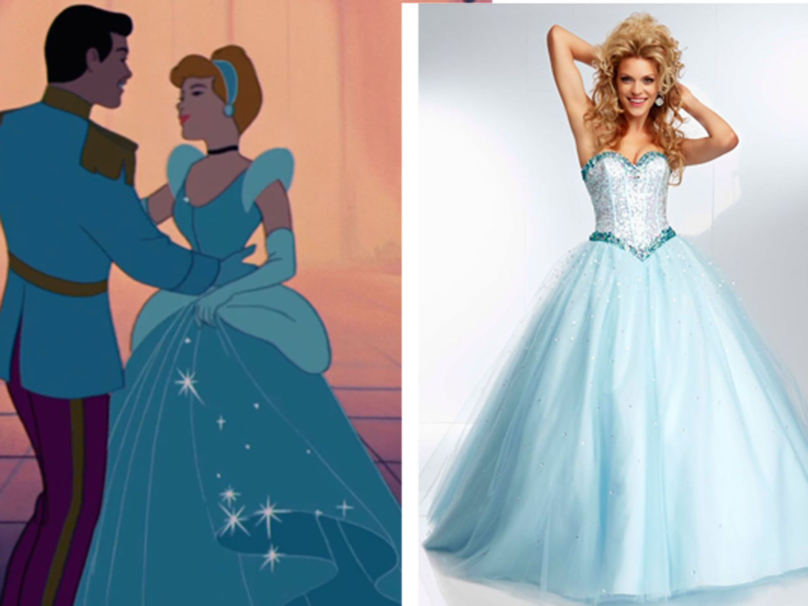 6 Prom Dresses Inspired by Disney Princesses | Prom, Princess and ...