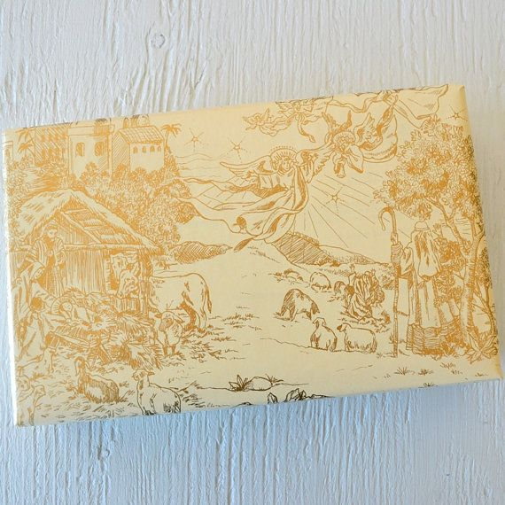 now this is christmas wrapping paper beautiful 10 feet nativity toile gift wrap 2