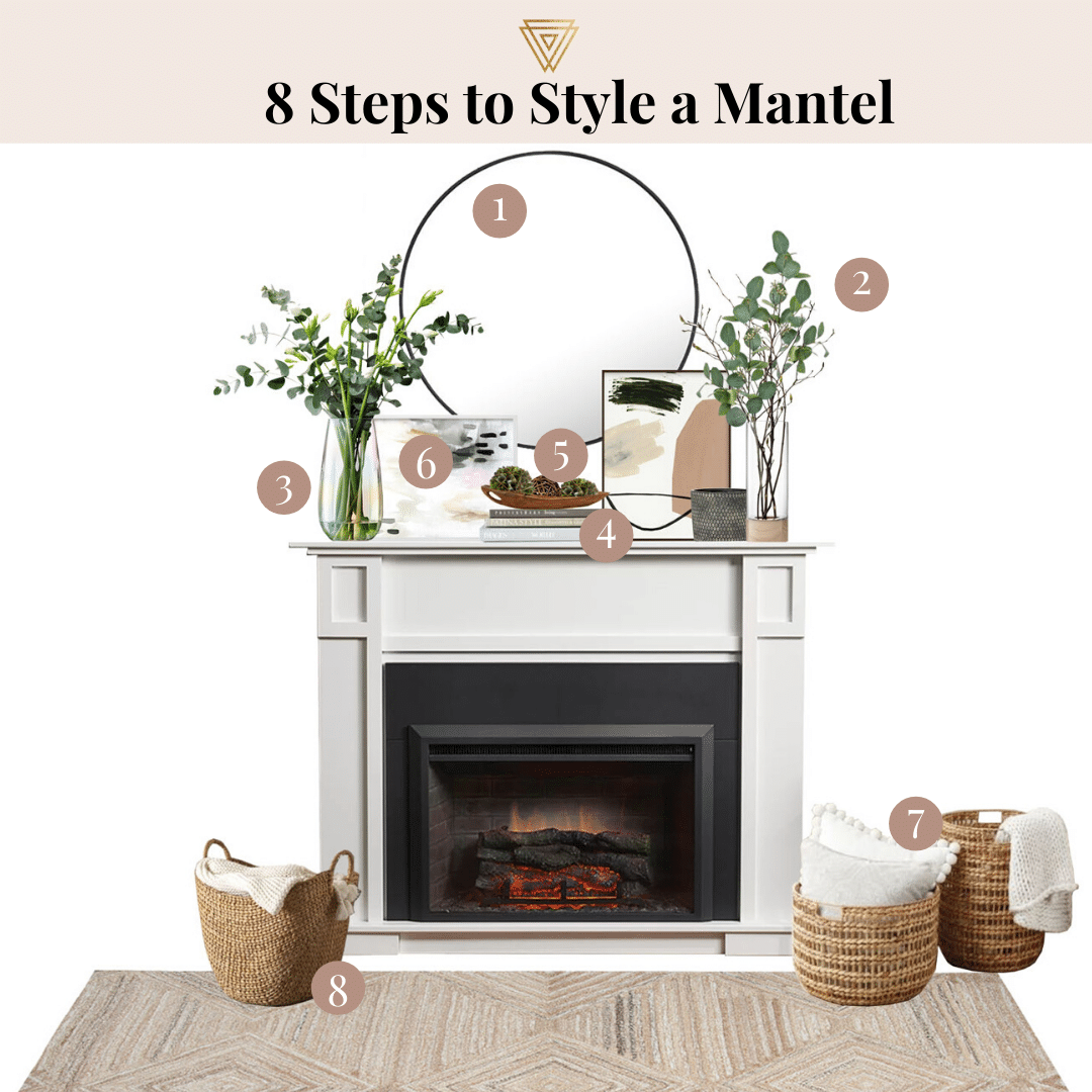 Photo of 8 Steps to Style a Mantel
