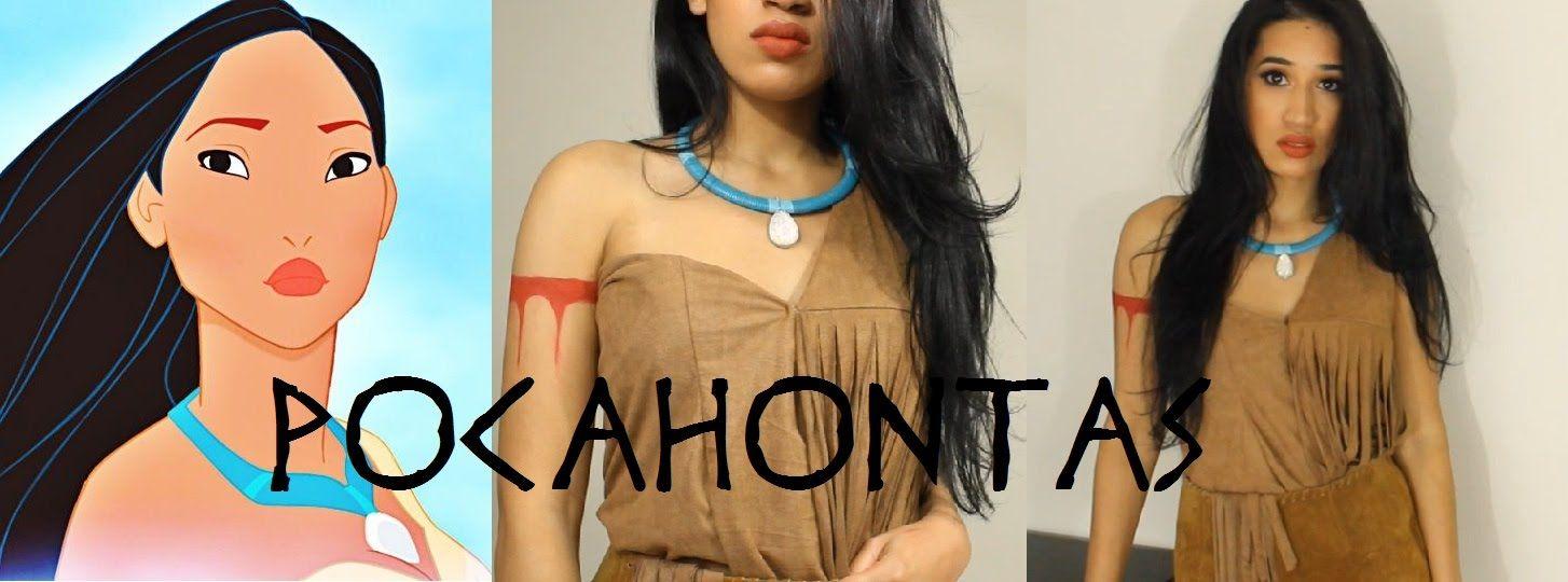 Disney Pocahontas Inspired Halloween Tutorial  DIY Necklace   CillasMake...