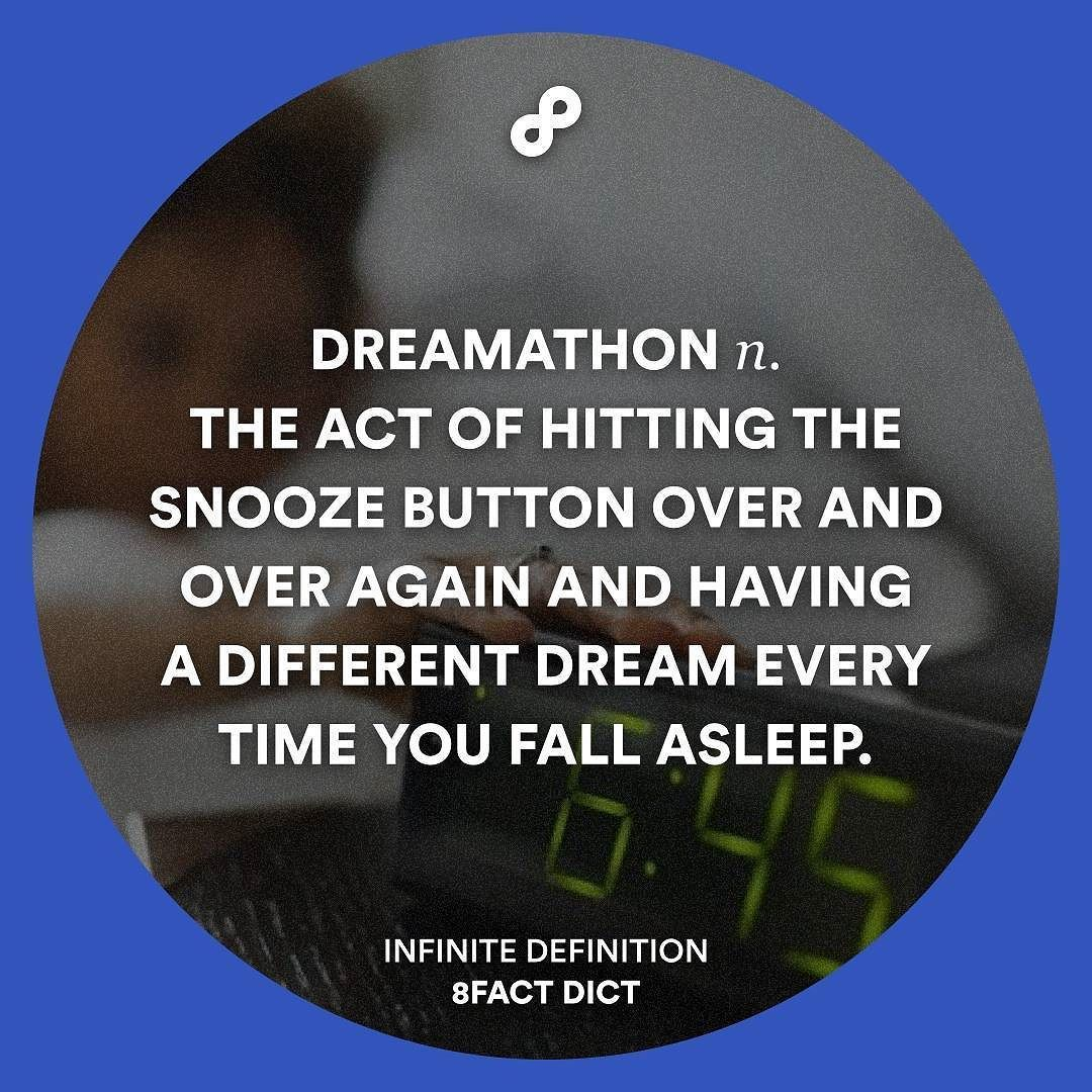 Me every morning. #8factdict #definition by 8factdict