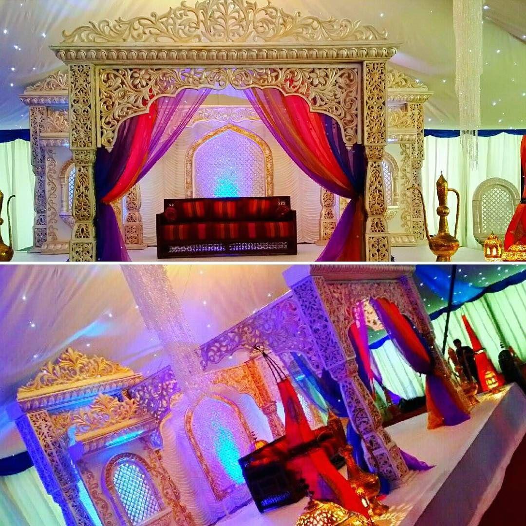 Wedding gate and stage decoration  weddingstagesMehndiStagesasianweddingsbengaliweddingweddingdecor