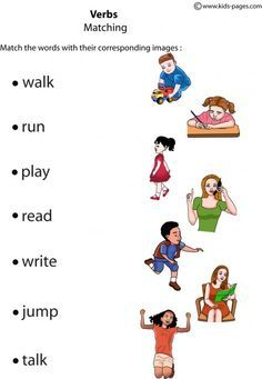 Worksheets Exercise Worksheets For Kids verbs exercises for kids buscar con google english exercise kids