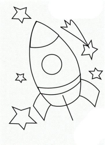 malvorlagen rakete ausdrucken 2 | schultüte | pinterest