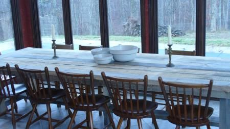Big Farm Table   DIY Projects