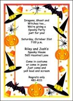 kids halloween party invites to complement children halloween games - Kids Halloween Party Invite
