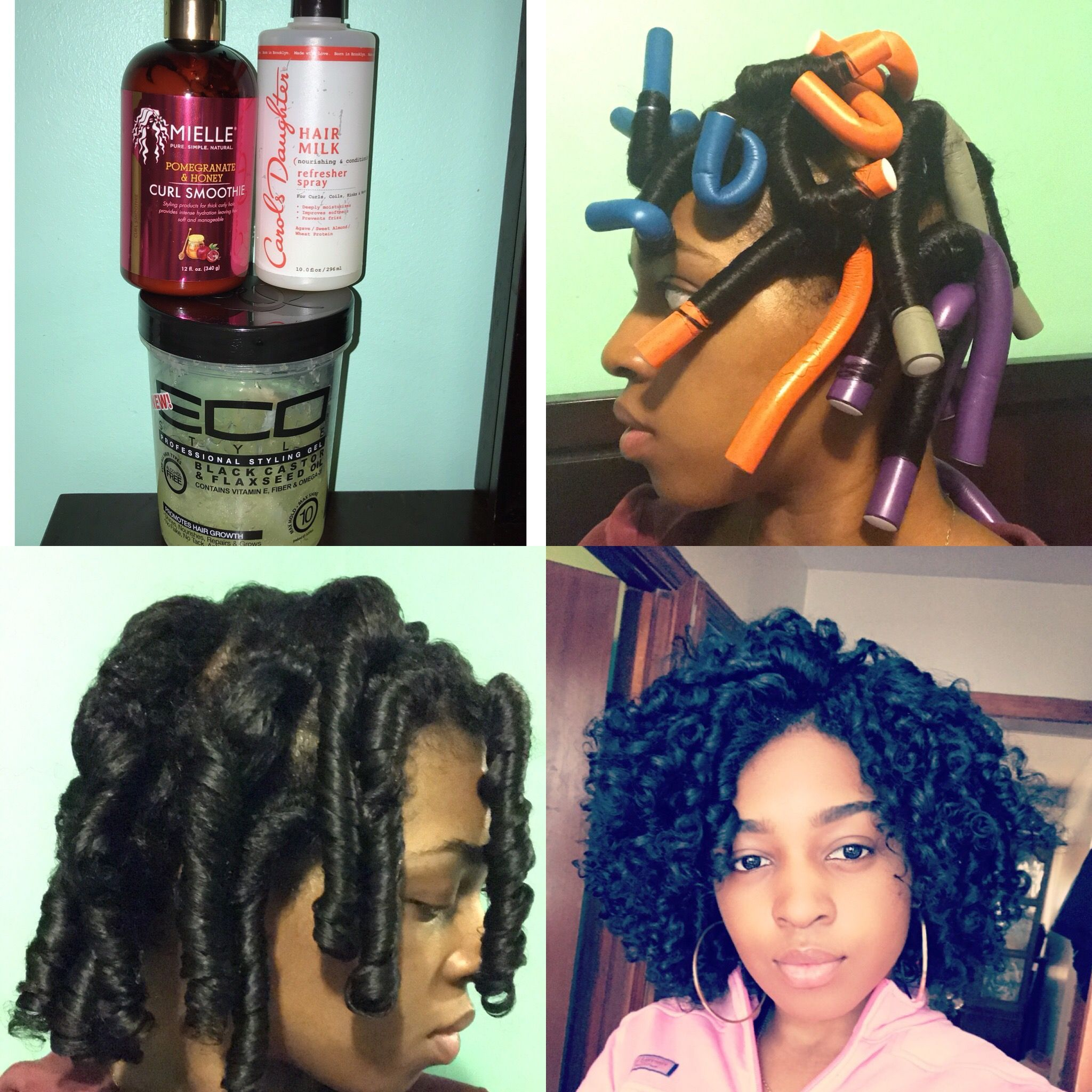 Flexi rod set instagram lovemykinkss uhairu pinterest flexi