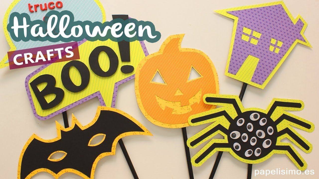 Pin by Papelisimo on - Halloween - Pinterest Manualidades - Halloween Decorations For Kids