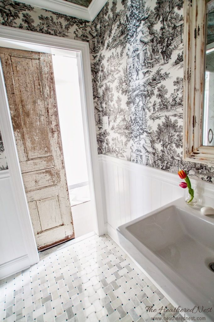 Napoleon\u0027s Throne Room (Our French Country Bathroom Reveal