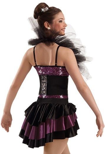d9163fda2 Sequin Corset Shrug Biketard -Weissman Costumes | Dance sayings ...