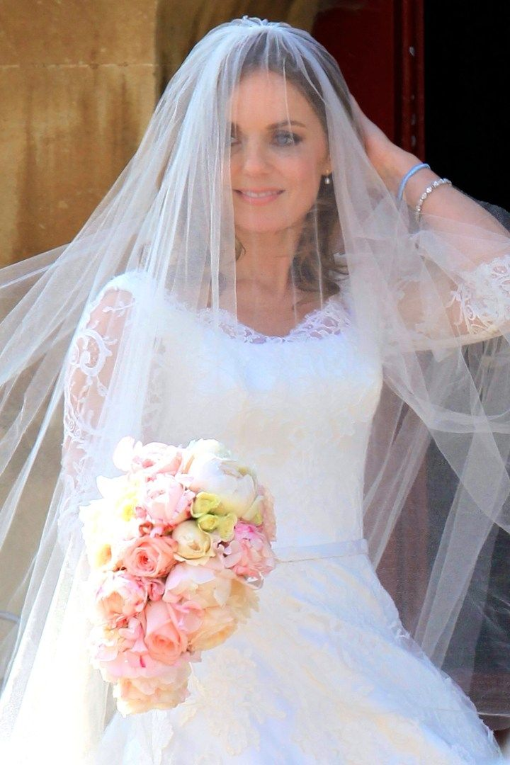 geri halliwell wedding flowers - Google Search