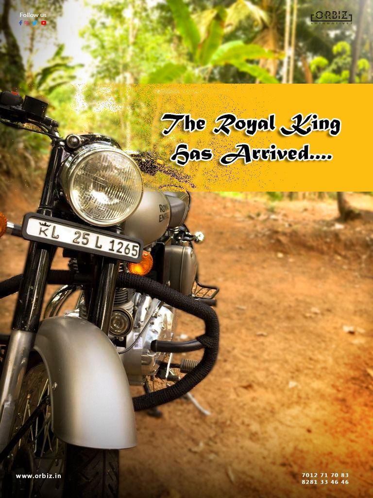Royal Enfield Bike Number Plate Designs Number Plate Number