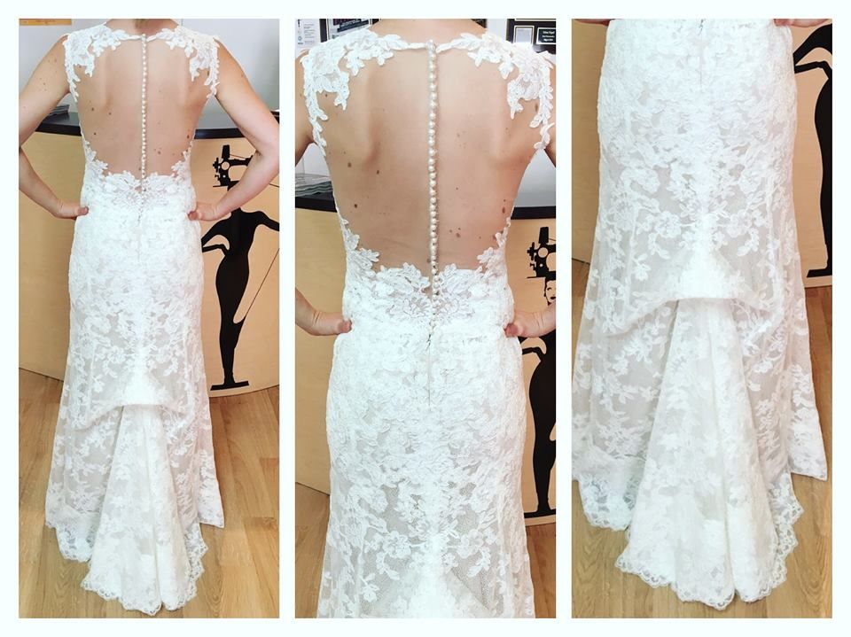Only look at this beautiful #weddingdress that was #altered by ...