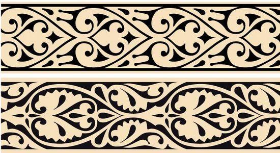 Арабские орнаменты в векторном формате Надо попробовать