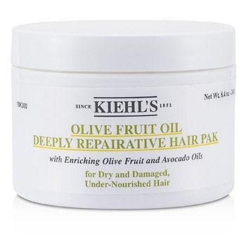 Kiehls Olive Fruit Oil Olive Fruit Oil Deeply Repairative Hair Pak (For Dry and Damaged Under-Nourished Hair)