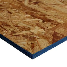 Shop 7 16 X 4 X 8 Osb Sheathing At Lowes Com Osb Sheathing Osb Sheathing