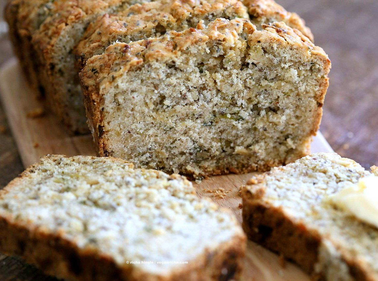 Vegan Gluten Free Zucchini Bread Recipe Gluten Free Zucchini