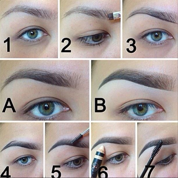 30467076f60 how to do the faded eyebrow - Google Search | makeup | Eyebrow ...