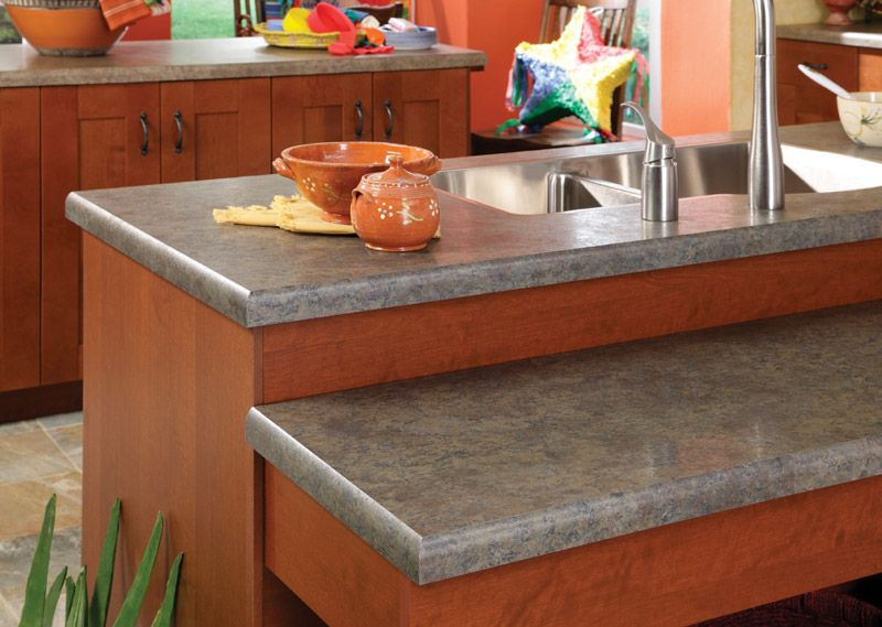 Slate Kitchen Counters slate countertops | african-slate-with-stainless-sink-left-angle
