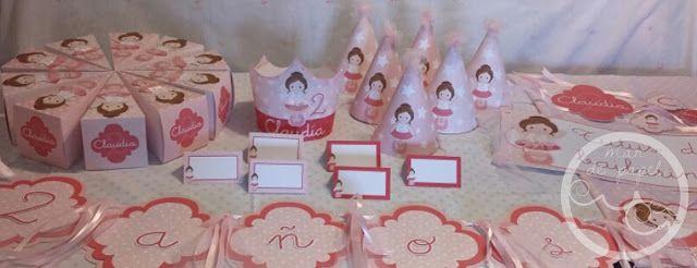 MAR DE PAPEL: El segundo cumple de Claudia: bailarinas