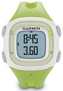 Garmin Watch Forerunner 10 Green - Achieve your workout goals simply by using a gps tracker to measure all things exercise: topsmartwatchesonline.com