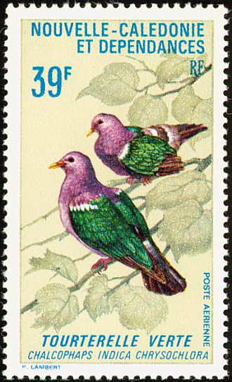 Pacific Emerald Dove stamps - mainly images - gallery format