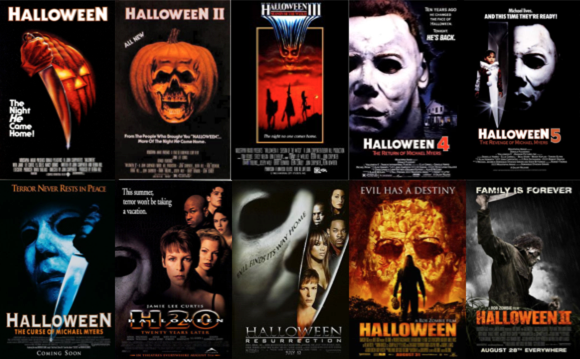 A Complete Ranking of All 10 'Halloween' Movie Posters ...