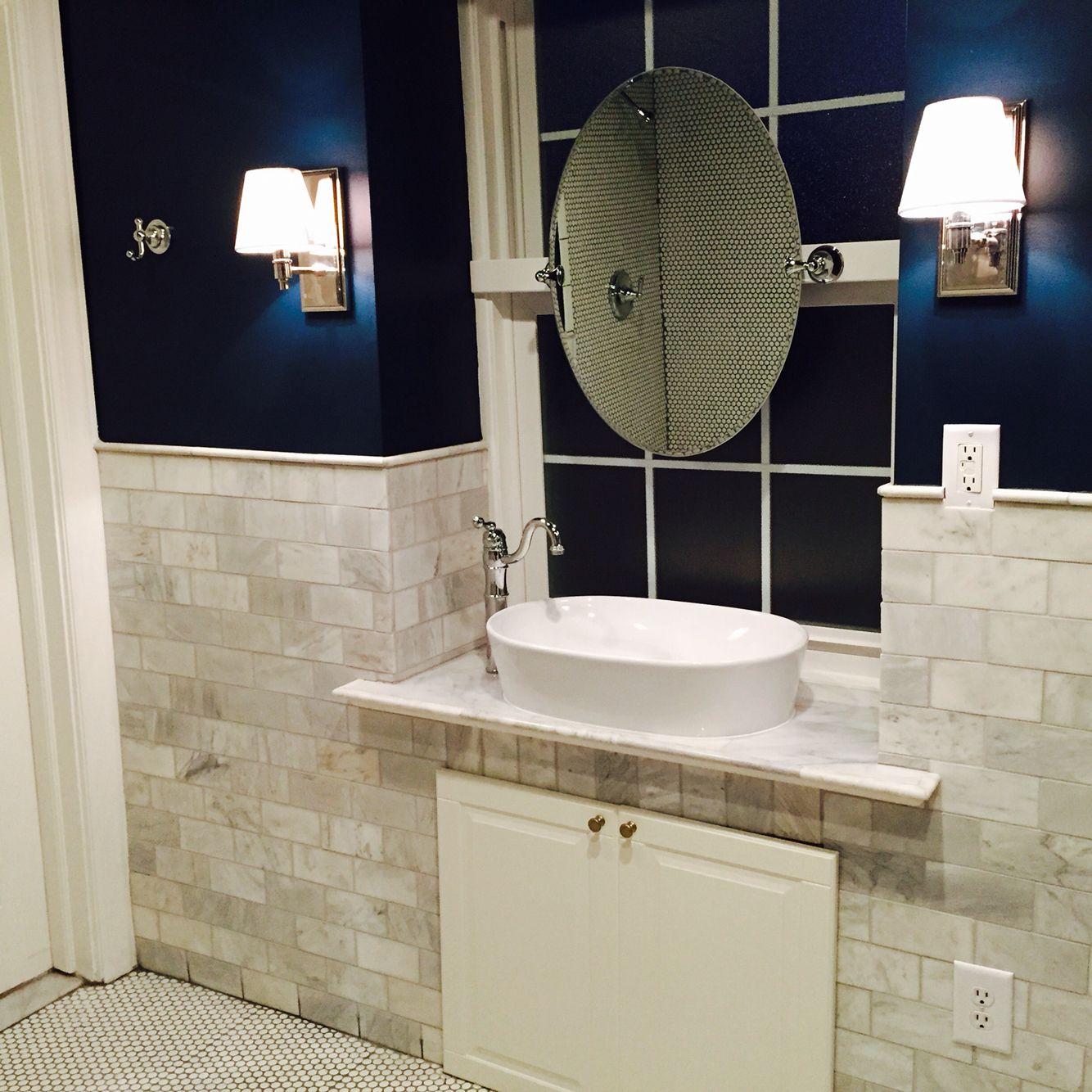 Mirror Mounted On Window Windowsill Vanity Bathroom Mirror Bathroom Round Mirror Bathroom