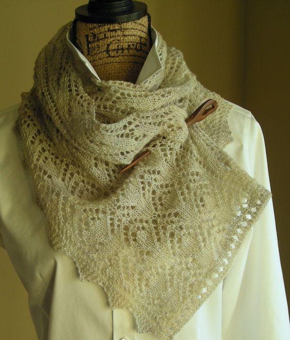 Knitting Pattern Pdf Smoky Mountain Morning Mist Scarf Shawl