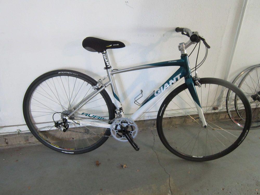 50cm Giant Avail Women S Upright Bar Road Bike Ultegra Dura Ace Mavic Campagnolo Comfort Bike Bike Bicycle