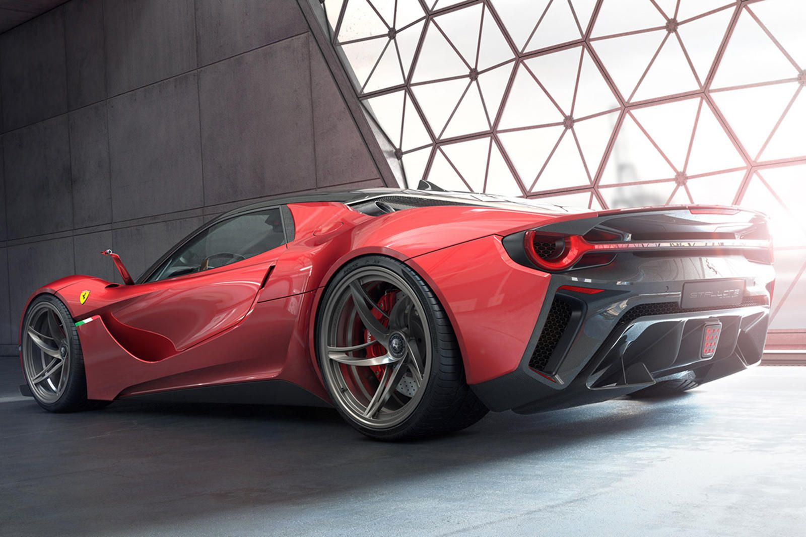 This Is What Ferrari S Next Flagship Hypercar Should Look Like Enzo Ferrari Would Doubtless Approve Of The Stallone In 2020 Concept Cars Super Cars Ferrari