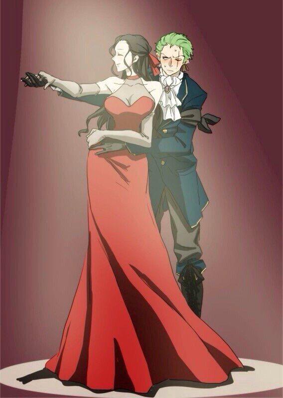 One Piece, Nico Robin, Zoro